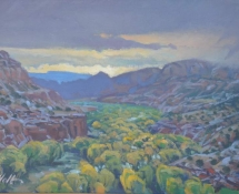 2006 Brad Holt, Overlooking the Escalante River Storm