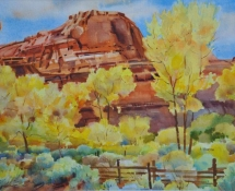 2006 Leslie Jenson, Falls Colors on the Escalante River