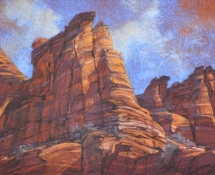 2007 Arlene Braithwaite, Cliff Above Calf Creek
