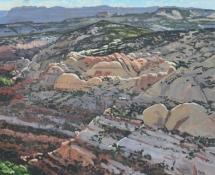 2011 David Nakabayashi, Landscape # 328 Calf Creek Cliffs Boulder UT