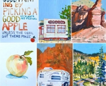 2013 Janet Kupchick, Good Painting Good Apple