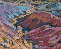 2015 Carol Bold, Color Of The Wild, Acrylic 11x14