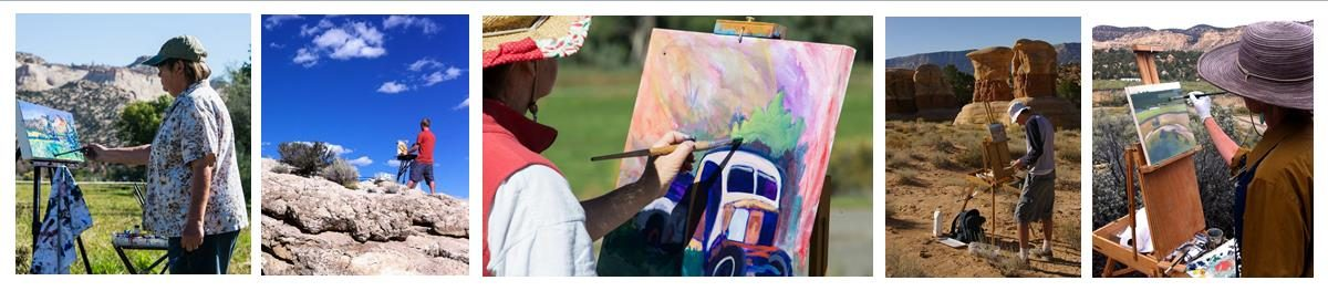 Pleini Air Painting Competition Southern Utah