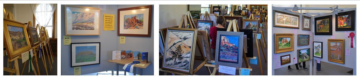 Plein aire painting exhibit