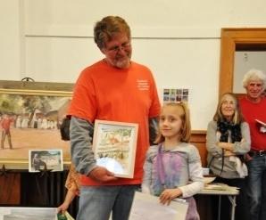 Ellie Nelson - youngest award winner