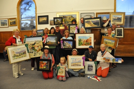 2013 Plein Air Winning Artists